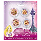 Glitter Disney Tangled Lip Gloss Party Favors, 4ct