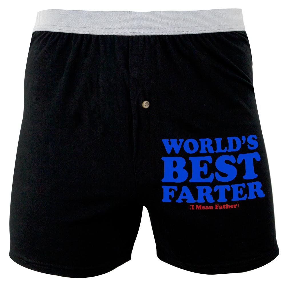 Father's Day World's Best Farter Soft Knit Boxer Old Glory 00168591