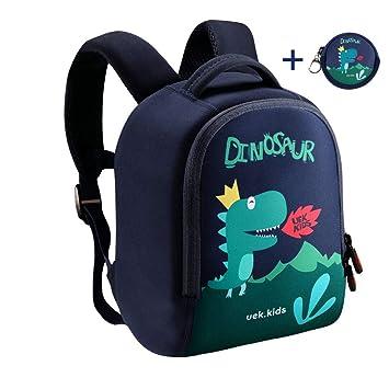 Mochila de niño pequeño LEHOO (patrón de Dibujos Animados) (Dark Blue): Amazon.es: Equipaje