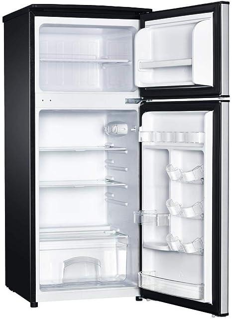 Magic Chef 4.5-Cu. Frigorífico pequeño con congelador de montaje ...