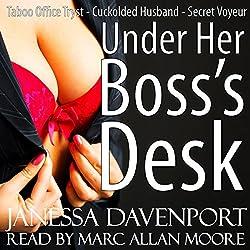Under Her Boss' Desk