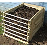 Easy-Load Wooden Compost Bin - Small - 449 Litres
