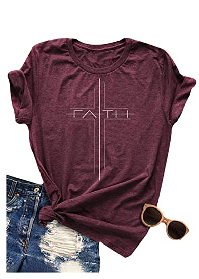 e9628470a Women T-Shirt Tops Mimosas Breakfast of Champions Letters Printed Short  Sleeve Blouse Tee (. Roll over image to zoom in. Mk shop limited