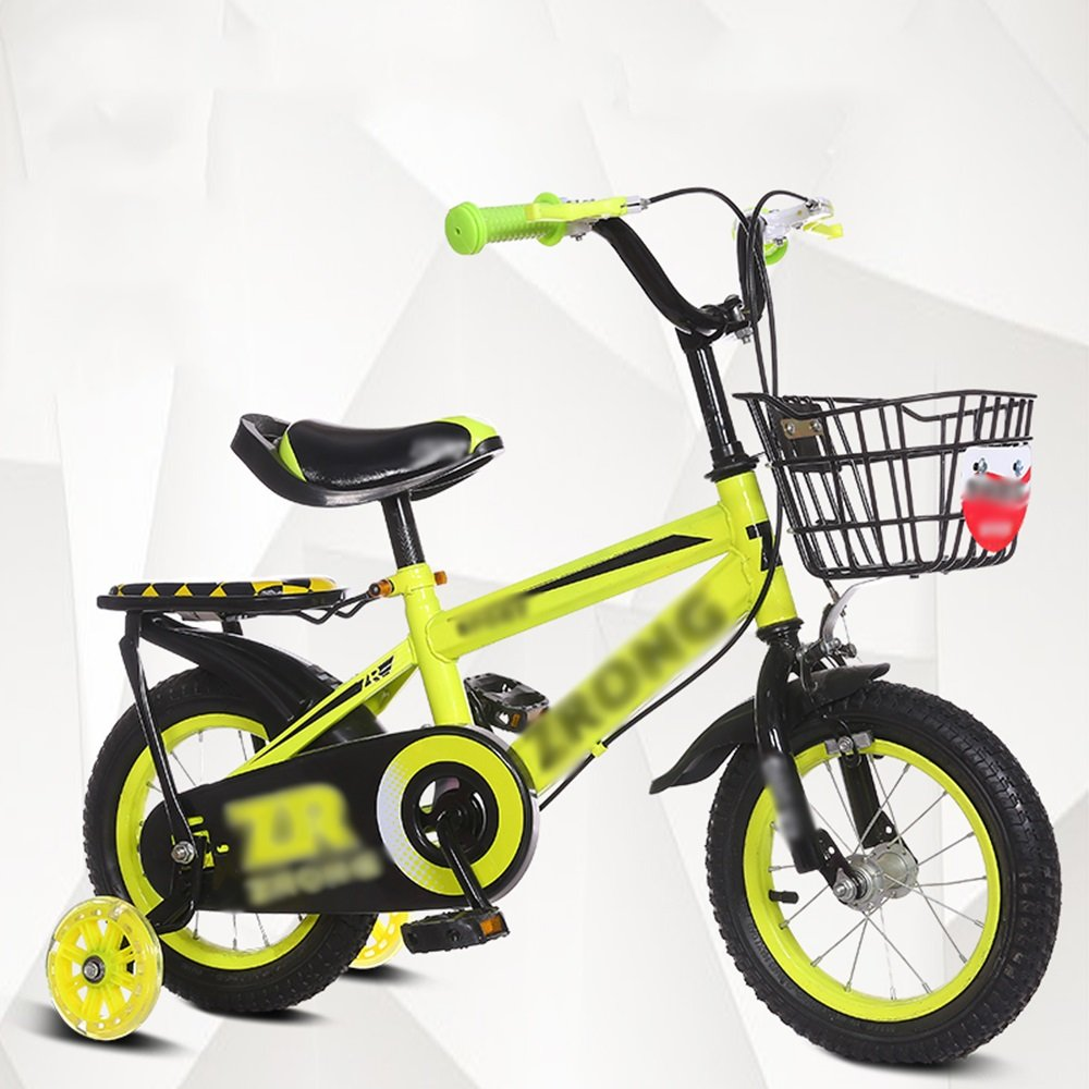 HAIZHEN マウンテンバイク 子供用自転車ベビーキャリッジ12/14/16/18/20インチマウンテンバイクブルーレッドイエローセキュリティ保護 新生児 B07C6SLPFF 20 inches|イエロー いえろ゜ イエロー いえろ゜ 20 inches