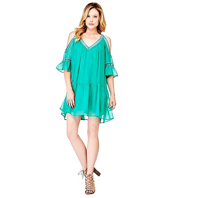 Vestido verde guess