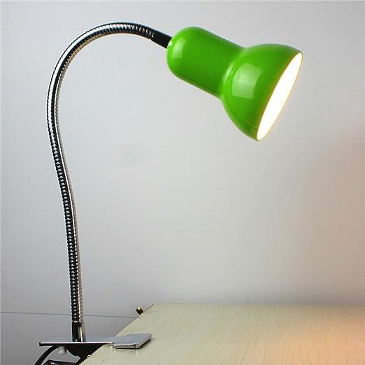 Lámparas de Escritorio Lámparas de Mesa y Mesilla Clip de metal ...