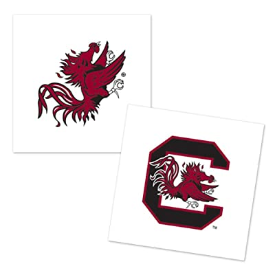 WinCraft South Carolina Gamecocks Temporary Tattoo - 4 Pack : Sports & Outdoors