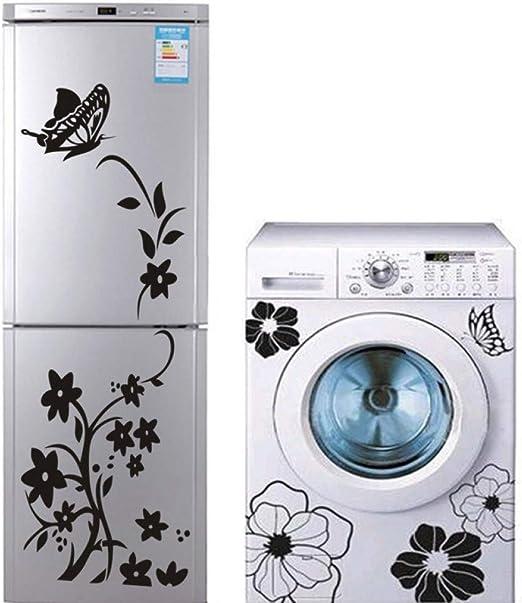 VEQWA Etiqueta Pared 2 Piezas Refrigerador, Lavadora, Etiqueta De ...