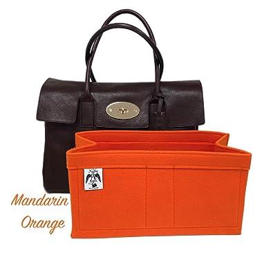 0f914e90405 Handbag Angels, Heritage Bayswater Handbag Liner (Mandarin Orange ...