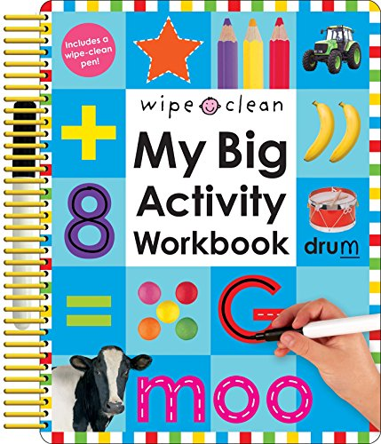 Wipe Clean: My Big Activity Workbook (My Big