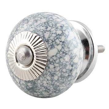 Indianshelf Artesanal de cerámica de 10 piezas de mármol ...