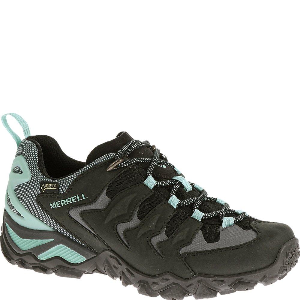 Merrell Women's Chameleon Shift Ventilator Waterproof Hiking Shoe,Black/Aventurine,5.5 M US