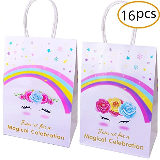 8 x Favourite Things Loot Bags Girls Birthday Party Supplies Goody Treat Empty