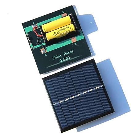 H.Y.FFYH Panel Solar Panel Solar portátil 1W 4V 0,25A energía ...