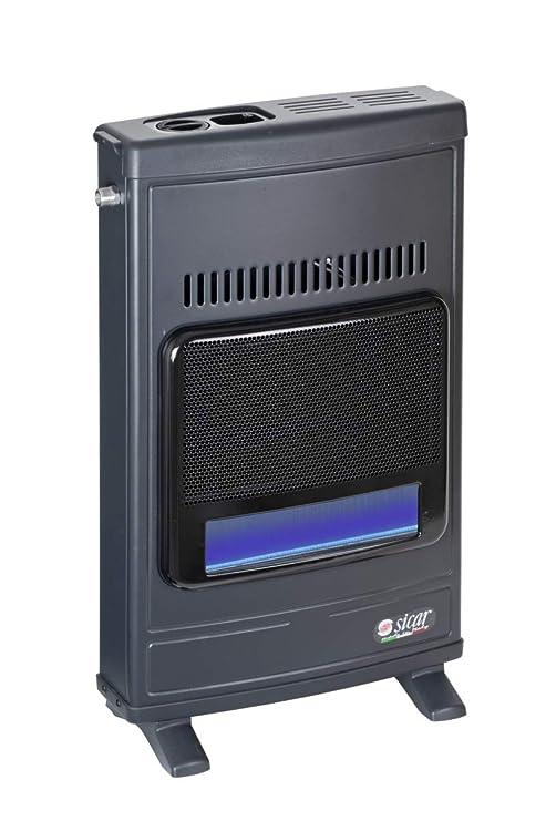 estufa de gas Metano infrarrojos sicar 4100 W Azul cuchillas Eco 45