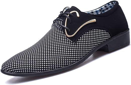 DFGRFN Men Casual Smart Shoes Pointed