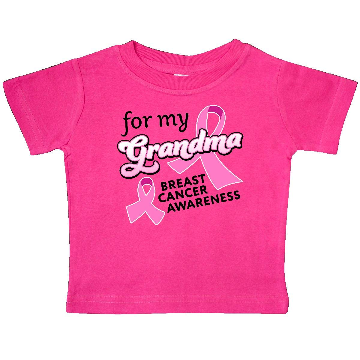 inktastic for My Grandma-Breast Cancer Awareness Baby T-Shirt