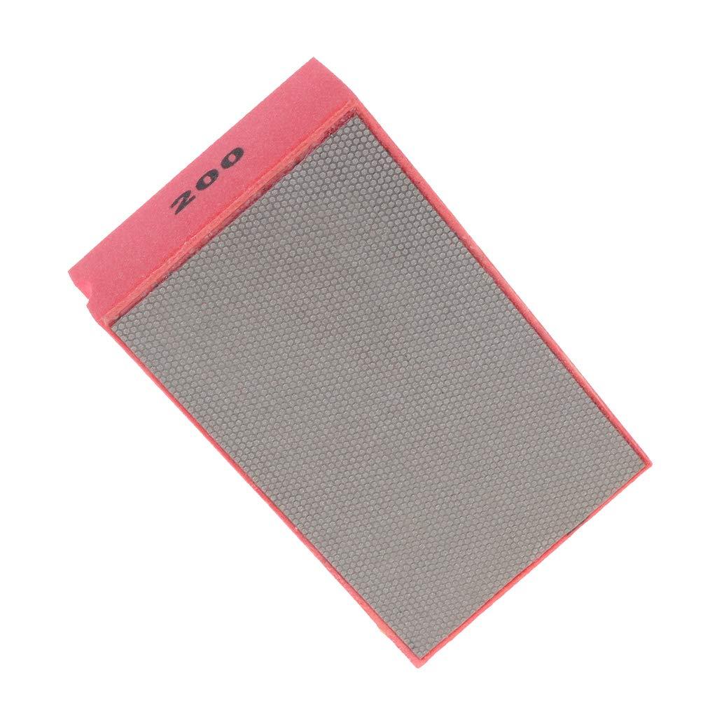 RRI/Diamante pulido a mano lijado almohadilla lijado para vidrio piedra m/ármol 60-400 grano
