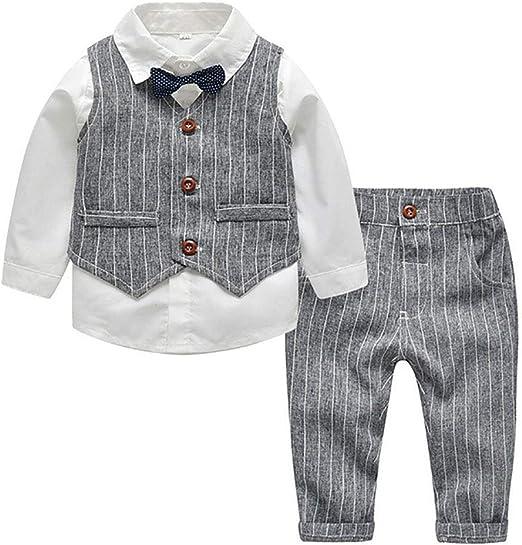PSTBWYL Conjunto de Ropa Infantil de otoño de Moda, Traje de bebé ...