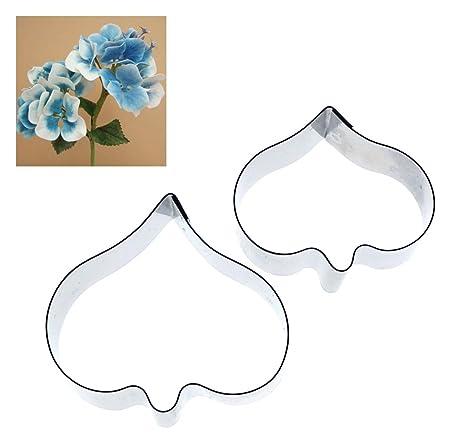 Alyson Reynolds - Hortensia pétalos 2 juego de moldes para repostería/porcelana fría decoración Floral