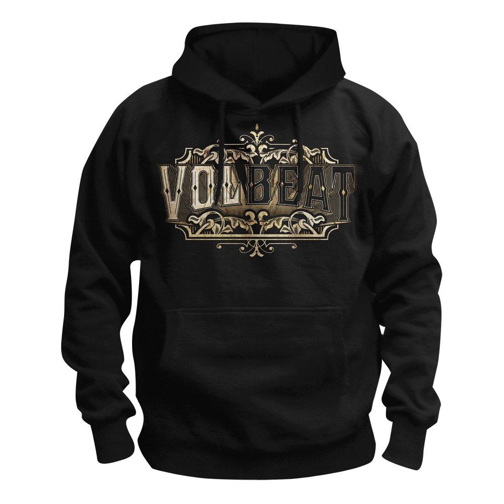 Volbeat Dark Skullwing Kapuzenpullover schwarzgrau L