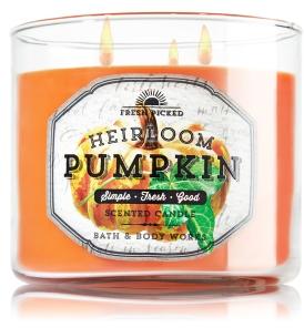 Heirloom Pumpkin 3-Wick Candle - Home Fragrance - Bath & Body Works