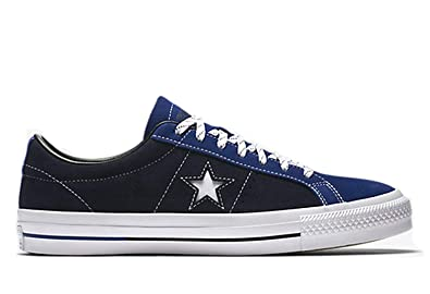 Converse One Star Pro Suede Lo Top Obsidian Blue Black Mens 9.5   Womens 8d0264c3e