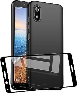 UCMDA Funda para Xiaomi Redmi 7A con Protector de Pantalla, Funda ...