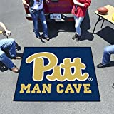 """Fan Mats Pittsburgh Man Cave Tailgater Rug 60""""X72"""""""