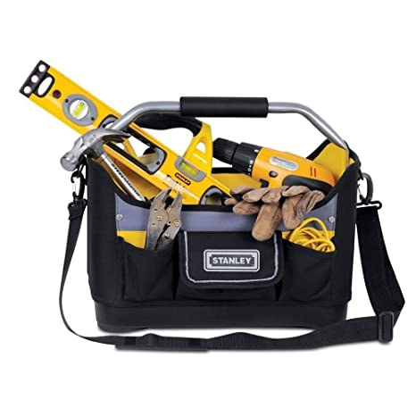 Amazon.com: Stanley Open bolsa Bolsa de herramientas (40,6 ...