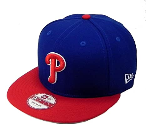 5250b299dd3 Image Unavailable. Image not available for. Color  New Era Philadelphia  Phillies MLB Snapback 2nd Link Hat ...