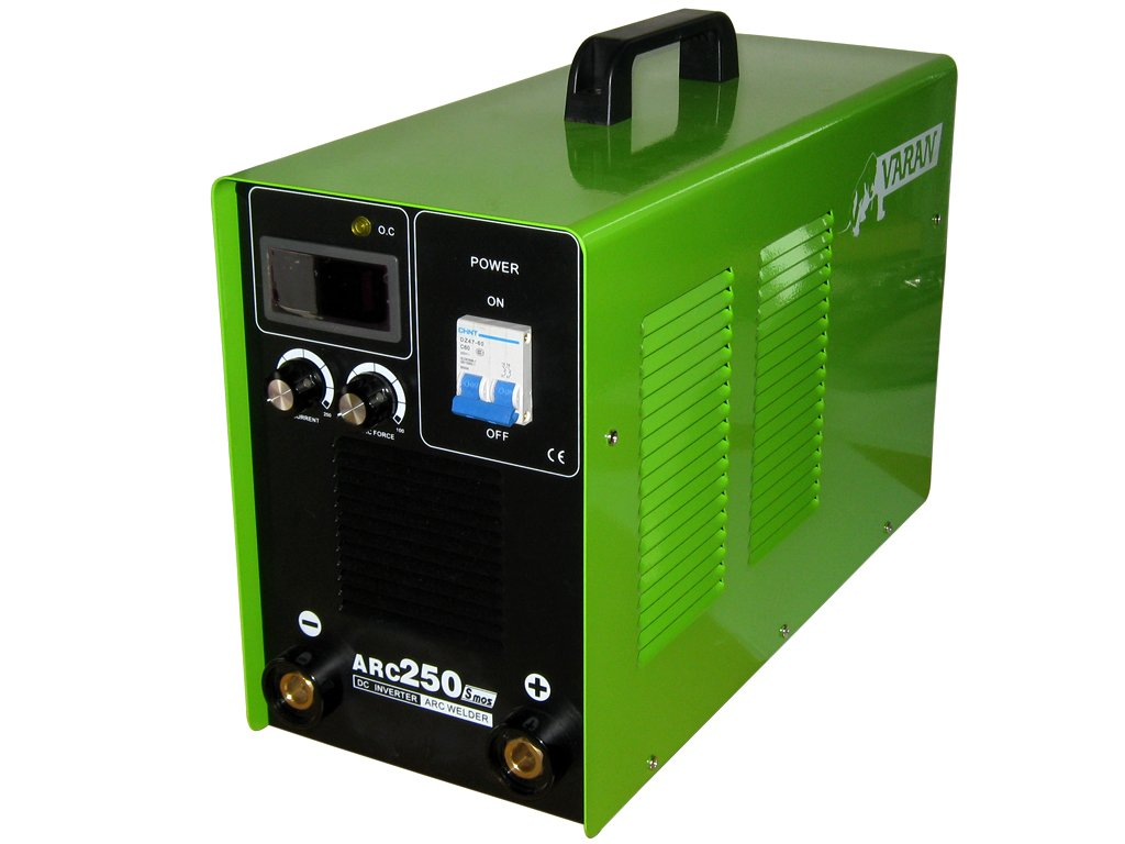 Varan Motors - Estación de soldadura al arco MMA Varan arc-250 Inverter gráfico Digital: Amazon.es: Bricolaje y herramientas