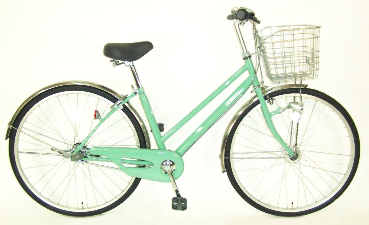 C.Dream(シードリーム) テクノシティオートライト TC73-H 27インチ自転車 シティサイクル グリーン 3段変速 100%組立済み発送 B078YLH8X6