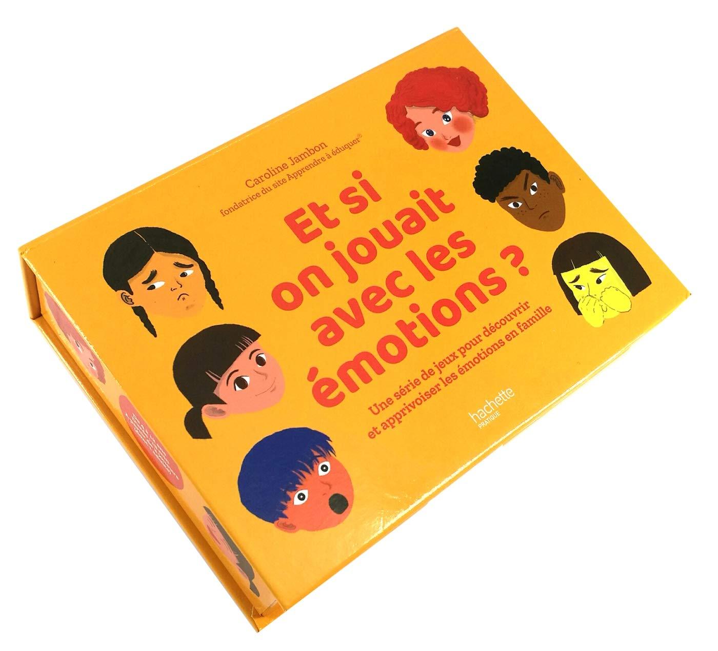 [COFFRET de JEUX sur les EMOTIONS] 5 jeux pour apprivoiser les émotions en famille - 4/12 ans