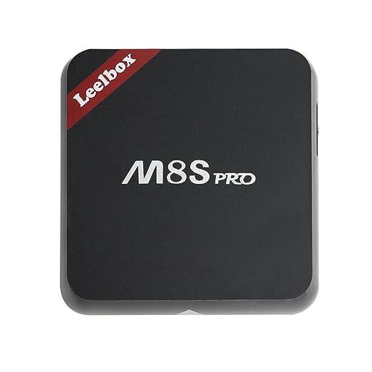74 opinioni per [Versionne Pura]Leelbox M8S Pro Android TV Box 32 Bits Android 6.0 2G/8G Dual