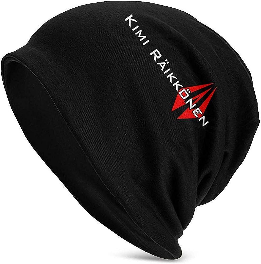 Kimi Raikkonen Iceman Bonnet Adulte Chaud Slouchy Tricot De Mode Chapeau Chapeaux pour Hommes Femmes Noir