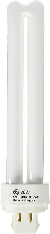 GE 97613 26 W Quad-Tube Compact Fluorescent Light Bulb