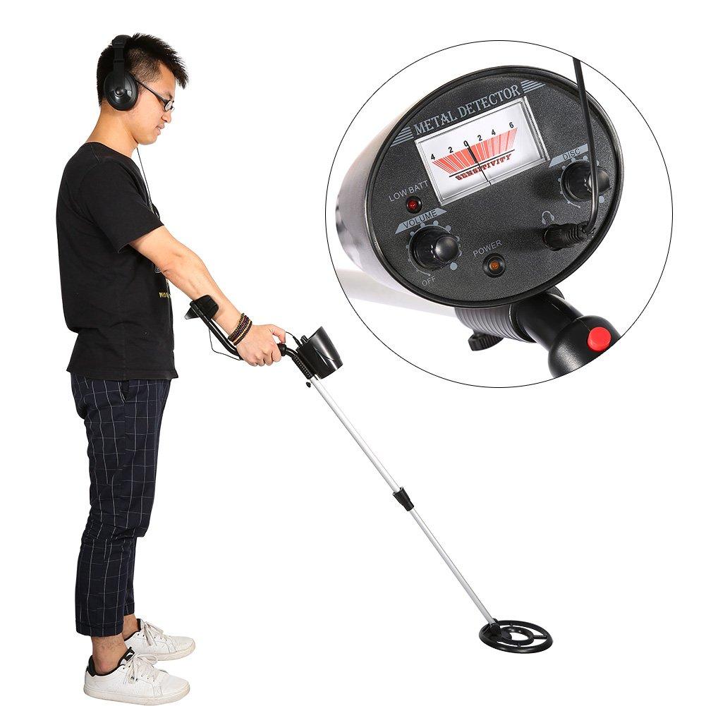 Yosoo Metal Detector detettore de metales Bobina de búsqueda impermeable con LCD Pantalla y plegable Pala, sensibilidad ajustables: Amazon.es: Bricolaje y ...