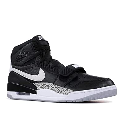 Jordan Legacy 312 Mens Shoes Size 13 Black/White | Basketball