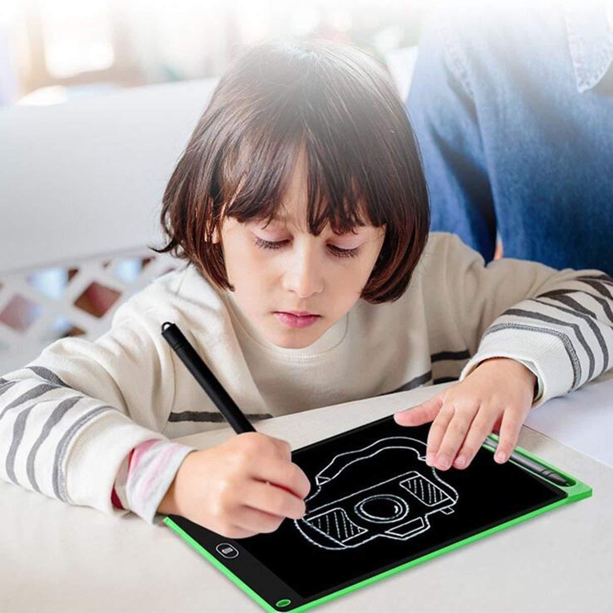Tableta gr/áfica de Arte Pluma de Dibujo Tableta Digital inal/ámbrica Pluma Escritura Stylus Pen Escritura a Mano Pluma Herramientas de Escritura Togames-ES Negro