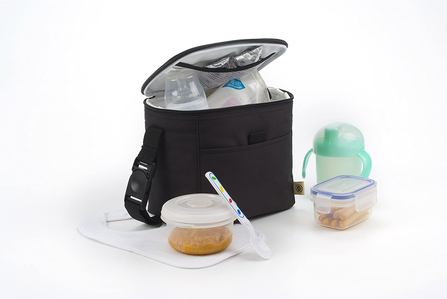 Baby Polar Gear Go Anywhere Bottle & Food Bag Black DNC UK Ltd