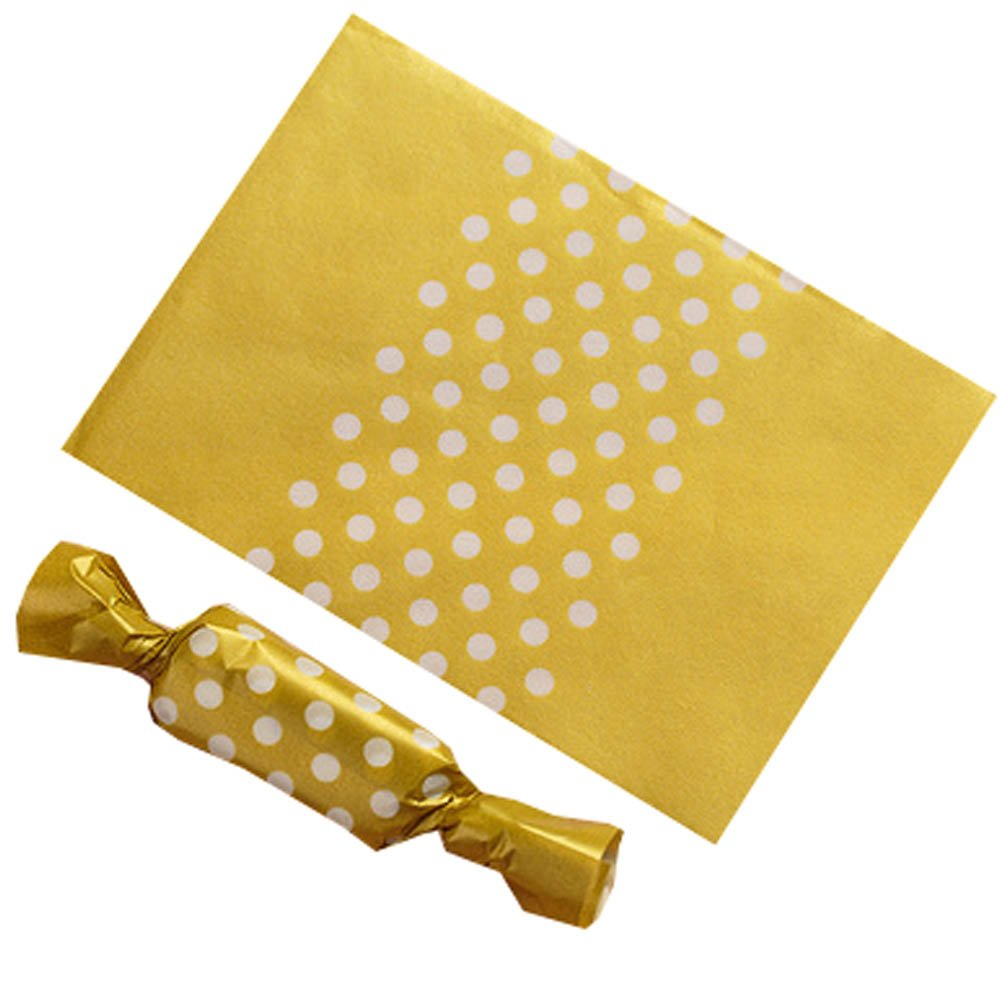 Blancho Bedding 500PCS Candy Wrappers Caramel Wrappers Packaging Bags Twisting Wax Paper 9x12.5cm, a4