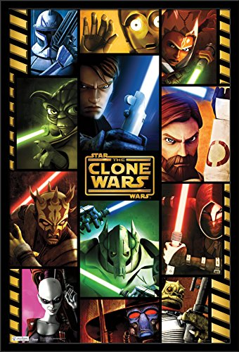 Trends International Star Clone Wars Grid, 22.375