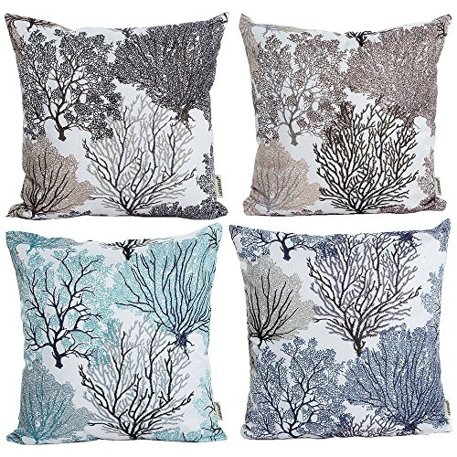 Cushion Cover Throw Pillow Cotton Linen Case Home Sofa Deco