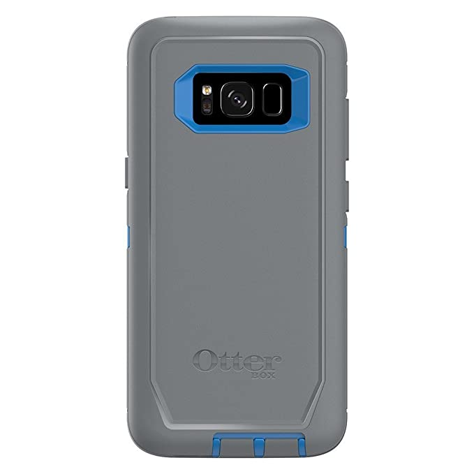 best value d9386 94e5f Rugged Protection OtterBox DEFENDER Case for Samsung Galaxy S8, Case Only -  MARATHONER (COWABUNGA BLUE/GUNMETAL GREY)