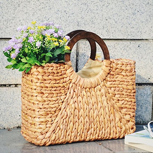 Cross Handbag Women Bag Shoulder Satchel body Tote color Travel Bag primary Straw Beach Shopping Bag TOOGOO Fashion tPHfxww