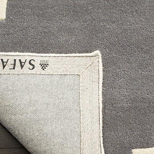 683726576488 - Safavieh Chatham Collection CHT730D Handmade Dark Grey and Ivory Premium Wool Area Rug (11' x 15') carousel main 2