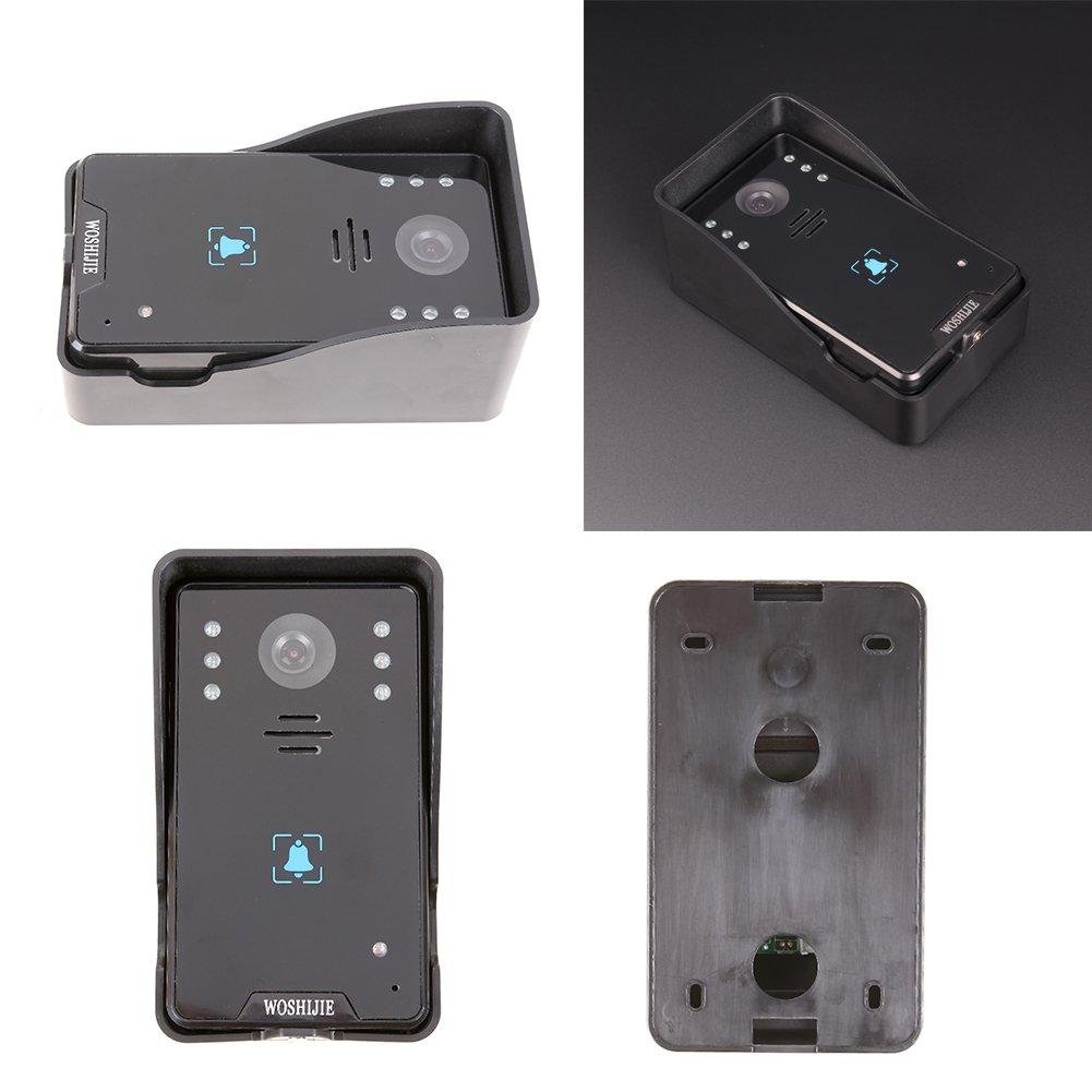 Peephole Viewer Door Viewer Awakingdemi Infrared Night Vision HD Villa Wired Touch Button 10.1 Inch Video Intercom by Awakingdemi (Image #9)