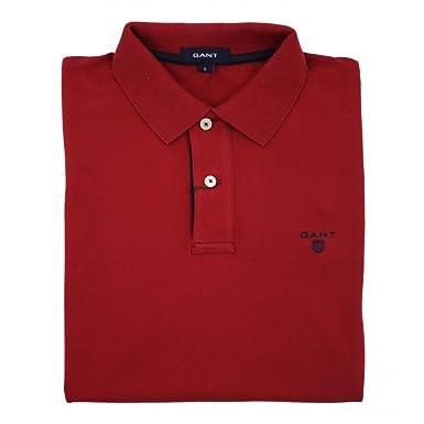 Camiseta polo de piqué (primavera-verano) con cuello contrastado ...