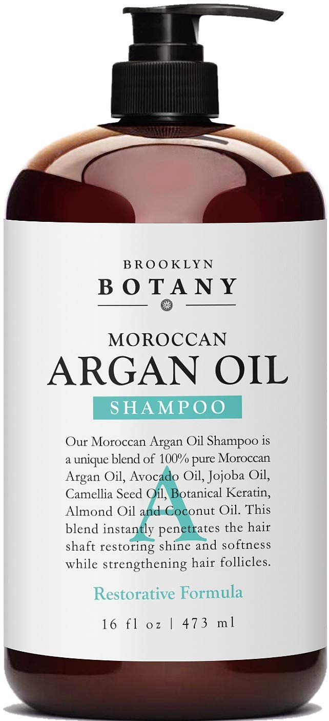 Amazon Com Moroccan Argan Oil Shampoo 16 Fl Oz Sulfate Free